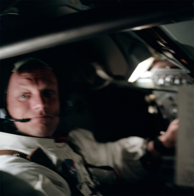 Rare photos reveal fascinating views of the Apollo 11 moon landing