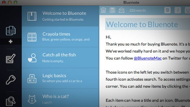 Grab Notes App Bluenote for 99¢ and Monitor Manager Multimon for $1.99