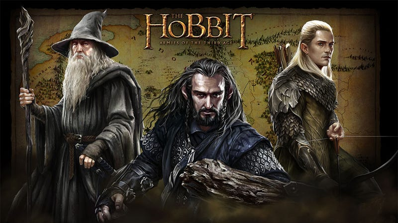 Official Hobbit Games Make the Perilous Journey to Mobile Phones and Web Browsers