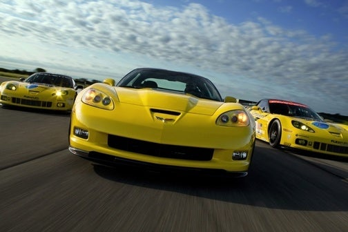 Corvette Racing Unveils New GT2 Corvette C6.R!