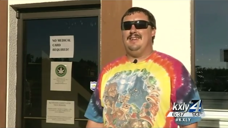Supremely Chill Dude Loses Job After Buying Spokane's First Legal Weed