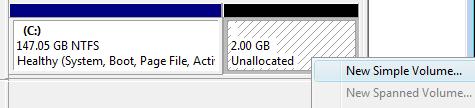 Screenshot Tour: Repartition your hard drive in Windows Vista