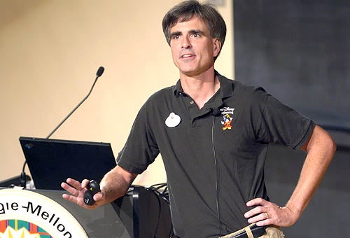 "Randy Pausch, ""Last Lecture"" Prof"