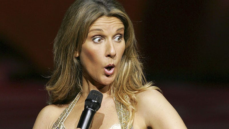 Celine Dion Shows You How to Take Truly Excellent Topless Photos