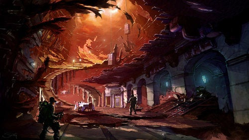 Ghostbusters Concept Art Takes Us Into The Spirit World