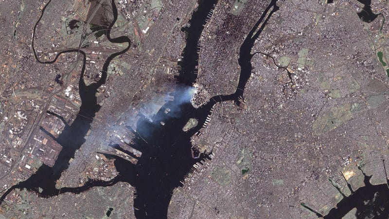 This Is How 9/11 Looked From Space