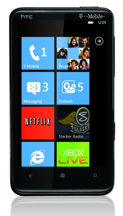 HTC HD7: Hello, All 4.3-Inches of Windows Phone 7