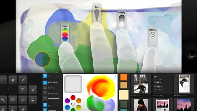 These Are the First Three Adobe Photoshop Touch Apps for iPad