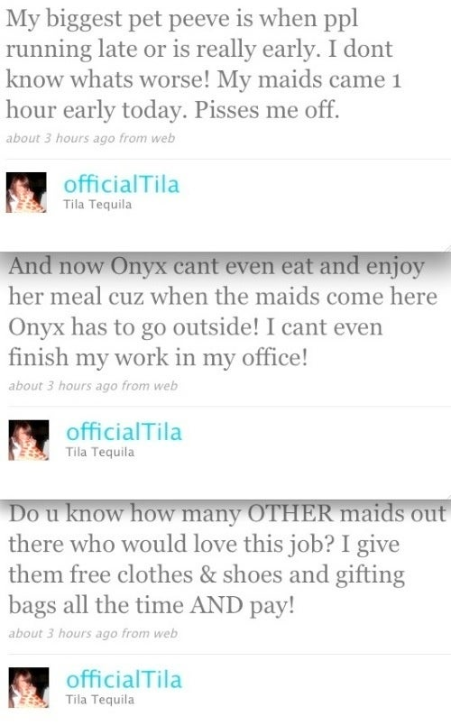 How Tila Tequila's Maid Totally Ruined Her Day