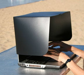 The Laptop Shade for Outdoor Laptopsmen