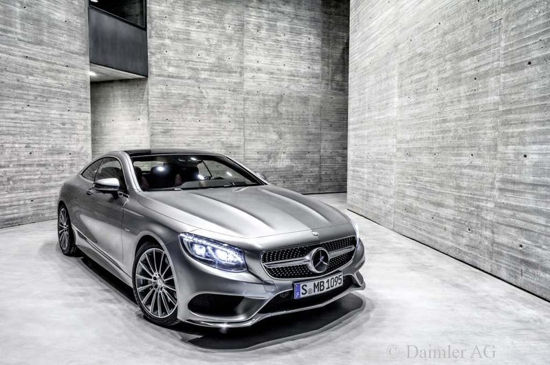 Mercedes S-class Coupe: This is all of it. Whole Gallery after the jump.
