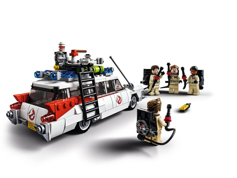 Here's the first look at the official Lego Ghostbusters CUUSOO set