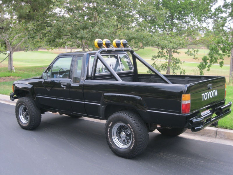 All Waxed Up 1985 Toyota Hilux 4x4 Back To The Future