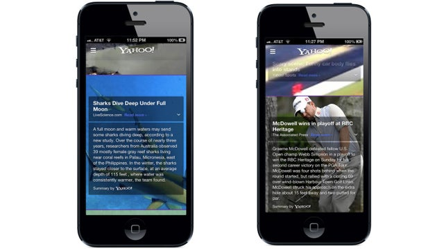 Yahoo's New Summly-Integrated News App Is Now Live