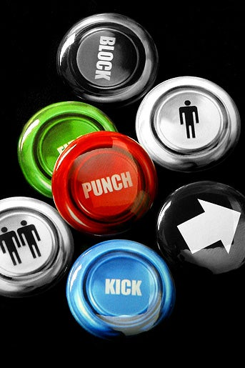 Supermandolini High Quality Arcade Buttons Are Made From Arcade Buttons