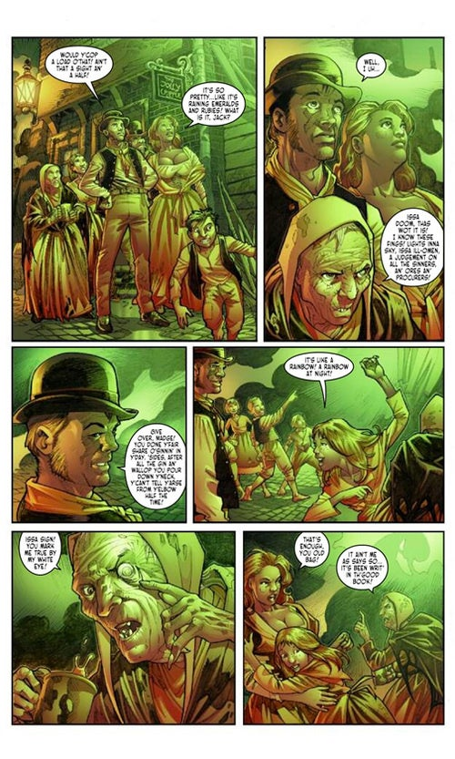 Victorian Undead #1 Preview