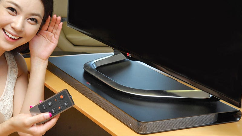 Installing LG's Sound Plate Speaker Is Easy, If Your TV Isn't Too Heavy