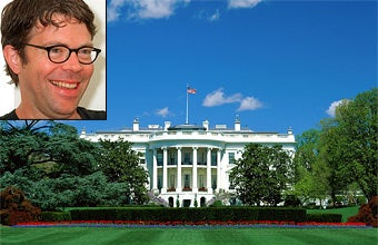Jonathan Franzen Met With Barack Obama Today