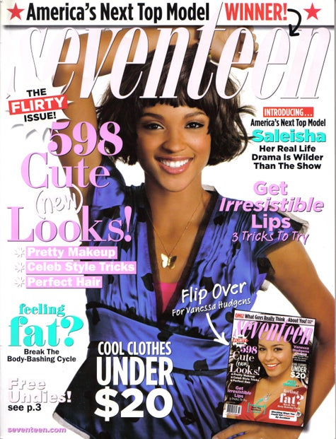 ANTM Winner Saleisha's Seventeen Cover And Spread