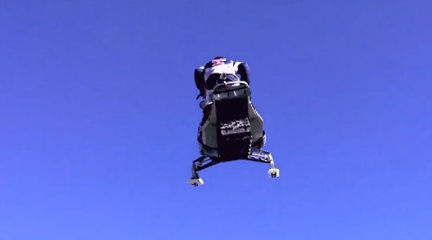The World Record Snowmobile Jump You Won't See On New Year's Eve