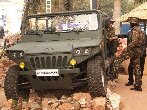 The Indian Humvee Mahindra Axe