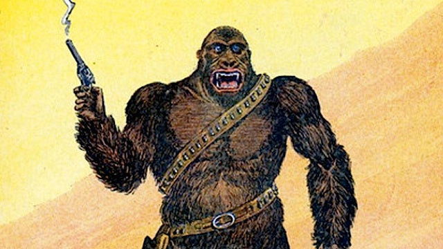 Read the lost adventures of Six-Gun Gorilla, the greatest cowboy gorilla in fiction