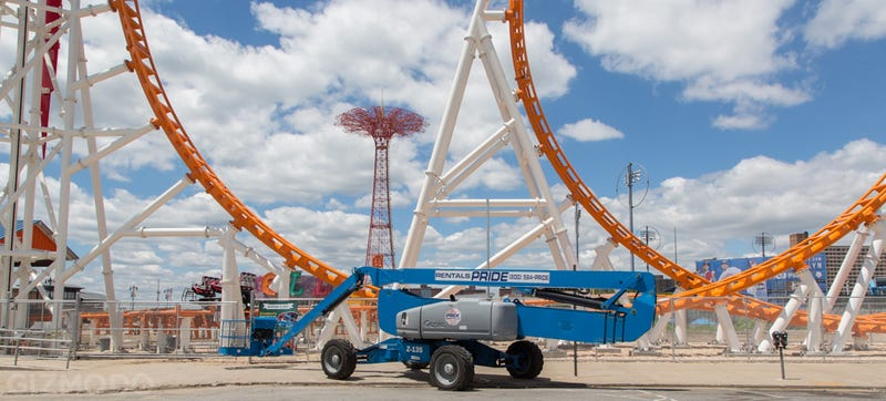 Coney Island's Newest Roller Coaster Is Narrower Than Most Apartments