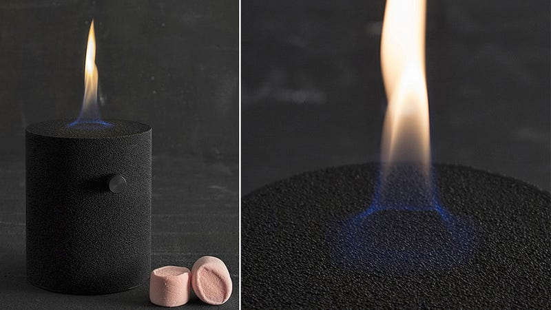 This Bronze Candle Will Burn Forever and Never Melt Away