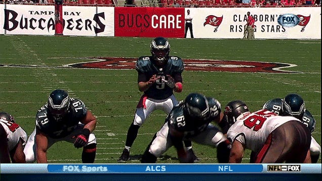 Here's Nick Foles's Best Michael Vick Impression