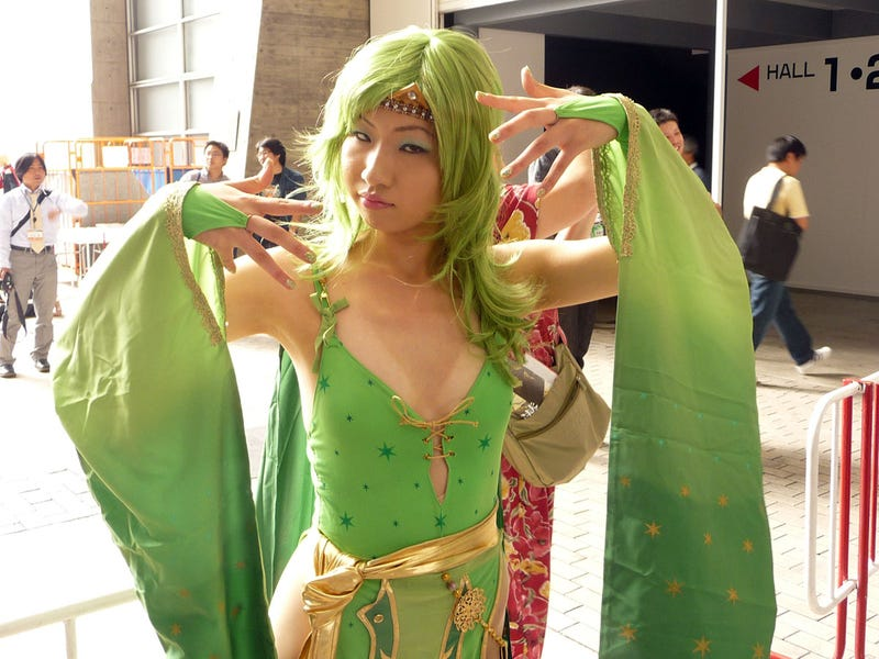 Tokyo Game Show Cosplay: Day Three Append Disc