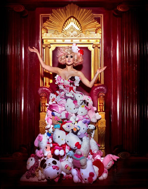 Lady Gaga + Hello Kitty = Crazy Cat Lady