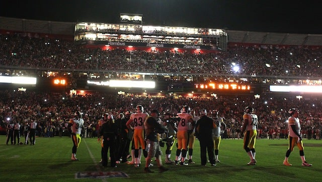 Football In The Dark Is An Illuminating Thing