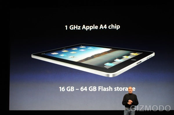 "Apple iPad First Device to Use ""Apple A4"" Processor"