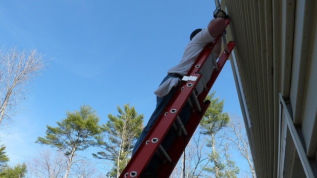 Remember the 4-to-1 Rule for Ladder Safety to Avoid Home Improvement Injuries