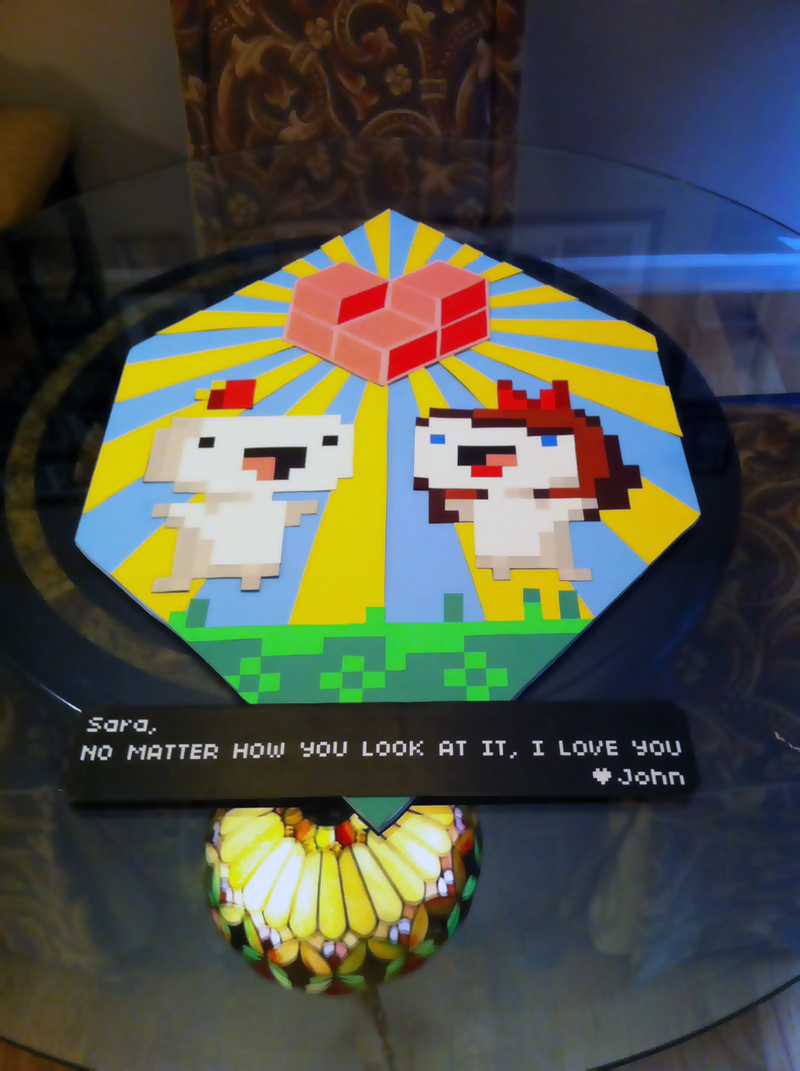 A Fez Love Letter, Quite Literally