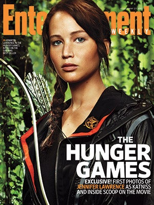 First Look: Jennifer Lawrence In Character As Katniss Everdeen