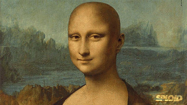 The Mona Lisa loses her hair in clever ad campaign against cancer