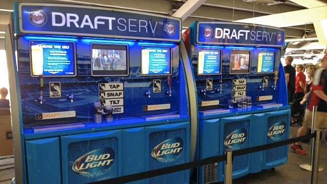 Self-Serve Beer Vending Machines Are Coming to the Ballpark