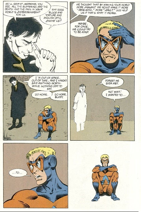 Why Can't Grant Morrison Stay In Continuity?