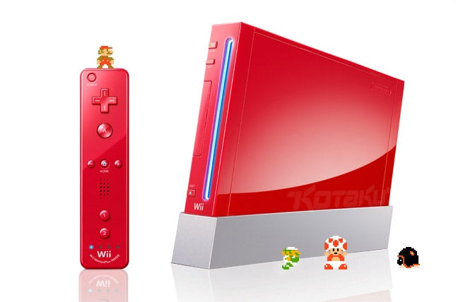 There Is A New Wii Color, And It Is Red
