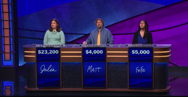 New Queen of Jeopardy Goes for 20th Consecutive Win Tonight