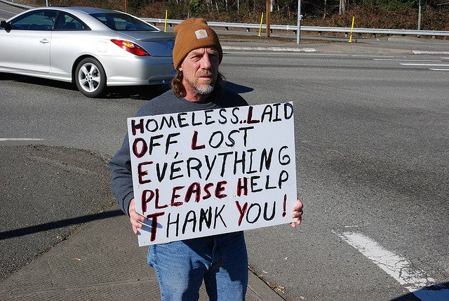 America's Homeless, Laid-Off Hordes Need a Little Perspective