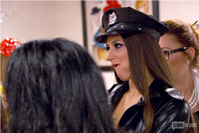 Real Housewives of NJ Honor First Responders With Hair-Pulling Brawl