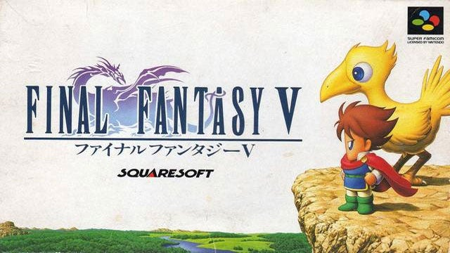 Final Fantasy V Coming To The PlayStation Network