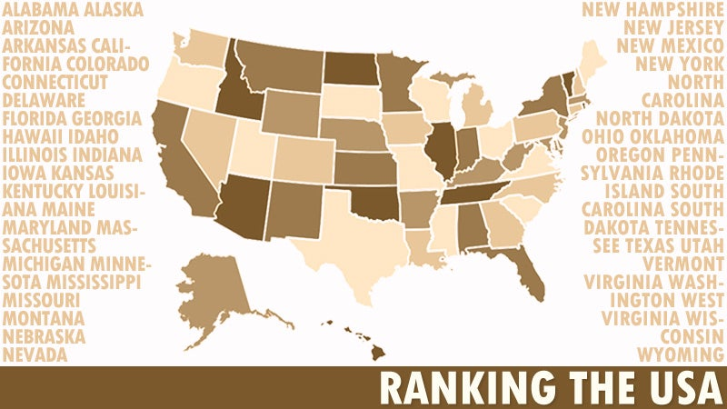 The Worst 50 States in America: Day 6