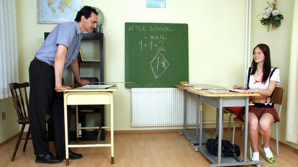 The blackboards in classroom porn — just how accurate are