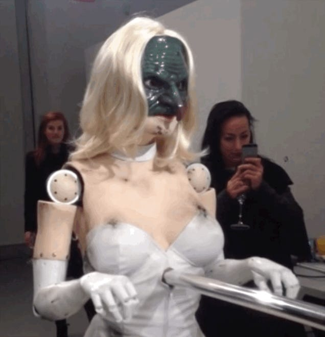 This Gyrating Animatronic Doll Will Haunt Your Dreams