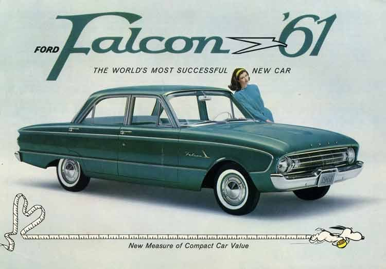 And now, a '61 Falcon four-door that's *not* stuck in a tree.