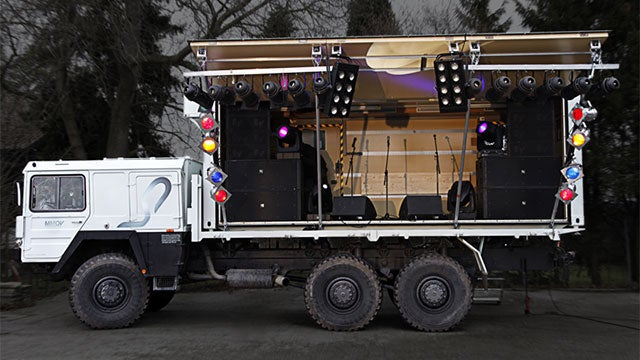 The World is Your Stage, With This Multimedia Party Truck