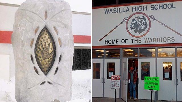 Vaginal Sculpture Erected in Front of Alaskan High School, Students Never Stop Giggling